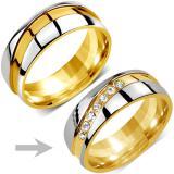 Snubn� ocelov� prsten pro �eny MARIAGE