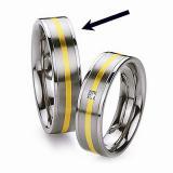 Ocelov� prsten - snubn� - pro mu�e RC2042-M