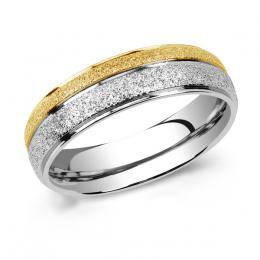 Snubn� ocelov� prsten FLERS