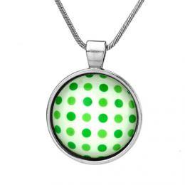 VESPER p��v�sek pro d�vky zelen� punt�ky