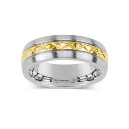 Snubn� ocelov� prsten pro mu�e a �eny KMR10006 - zv�t�it obr�zek
