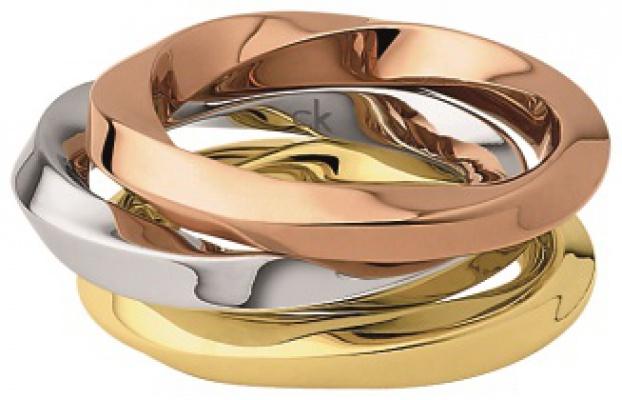 Calvin Klein Outlet D�msk� Prsten Exclusive 3v1 KJ0KDR3001