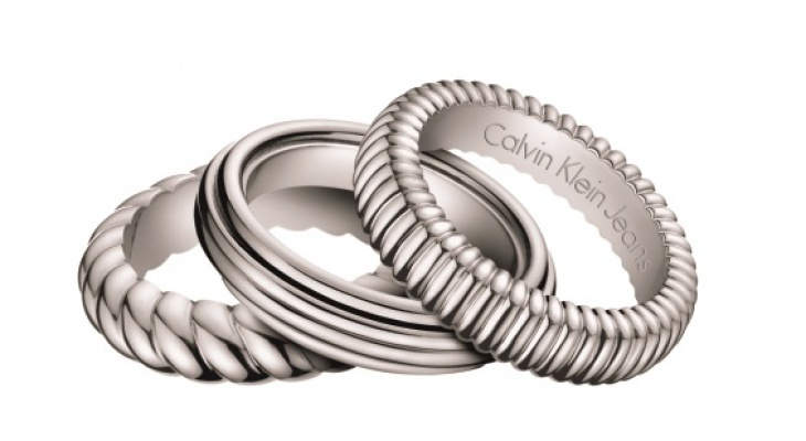 Calvin Klein Outlet D�msk� Prsten Waves 3v1 KJ17AR0101