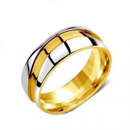 Snubn� ocelov� prsten pro �eny a mu�e MARIAGE
