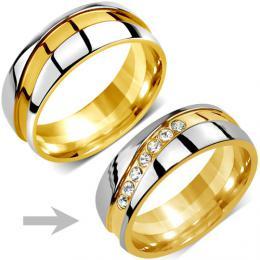 Snubnн ocelovэ prsten pro ћeny MARIAGE