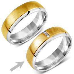 Snubnн ocelovэ prsten pro ћeny VIENNE
