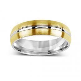 Snubn� ocelov� prsten VERNON - zv�t�it obr�zek