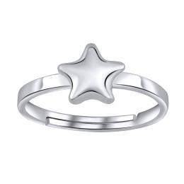 VESPER st��brn� prst�nek STAR na nohu