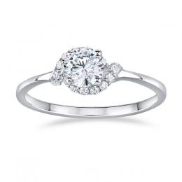 Stшнbrnэ prsten JULIETTE s Brilliance Zirconia