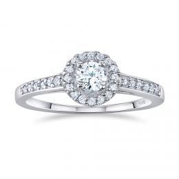 St��brn� prsten AMELIA s Brilliance Zirconia