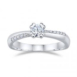 SILVEGO zásnubní støíbrný prsten