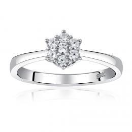 Zбsnubnн stшнbrnэ prsten FLORINA s Brilliance Zirconia