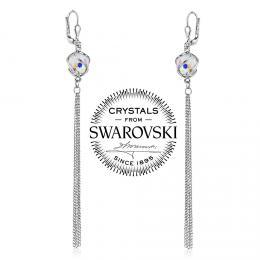 SILVEGO stшнbrnй nбuљnice шetнzkovй se Swarovski(R) Crystals
