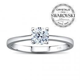 Silvego stшнbrnэ prsten MADISON se Swarovski(R) Zirconia