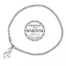 SILVEGO st��brn� n�ramek se Swarovski(R) Crystals