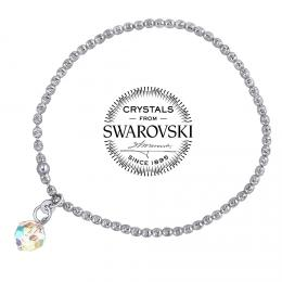 SILVEGO stшнbrnэ nбramek se Swarovski(R) Crystals