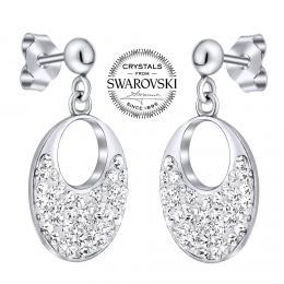 SILVEGO st��brn� n�u�nice na puzetu se Swarovski® krystaly