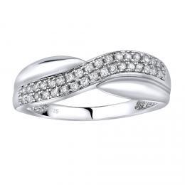 St��brn� prsten CHARLOTTE s micro zirkony