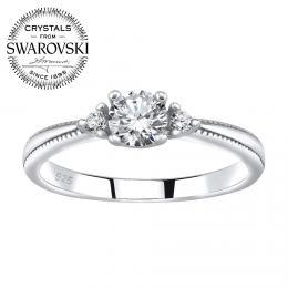 SILVEGO st��brn� prsten MELAYNA se Swarovski® Zirconia