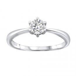SILVEGO st��brn� prsten SOPHIA se Swarovski® Zirconia