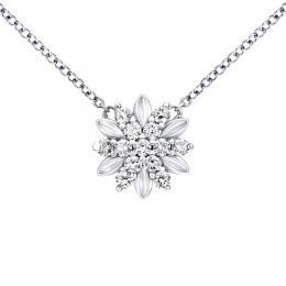SILVEGO støíbrný náhrdelník ALIVIA se Swarovski® Zirkony