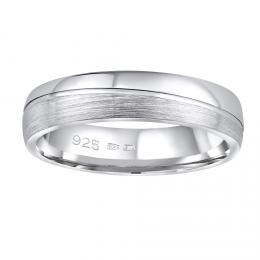 Snubnн stшнbrnэ prsten GLAMIS v provedenн bez kamene pro muћe i ћeny