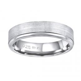Snubnн stшнbrnэ prsten MADEIRA v provedenн bez kamene pro muћe i ћeny