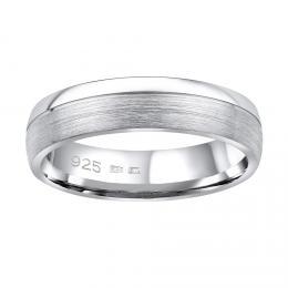 Snubn� st��brn� prsten PARADISE v proveden� bez kamene pro mu�e i �eny