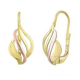 Zlat� n�u�nice ADELE v kombinaci �lut�ho a �erven�ho zlata