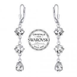 SILVEGO st��brn� n�u�nice �et�zkov� se Swarovski(R) krystaly