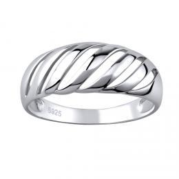 Obl�ben� st��brn� prsten
