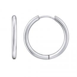 Oblíbené náušnice kruhy z chirurgické oceli