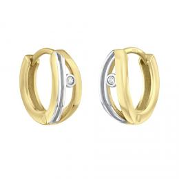 Zlat� n�u�nice kruhy ROXANE