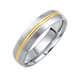 Snubnн ocelovэ prsten DAKOTA pro muћe i ћeny