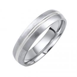 Snubní ocelový prsten DALIA pro muže i ženy