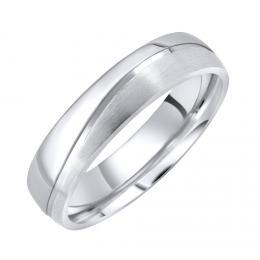 Snubní ocelový prsten GLAMIS pro muže i ženy