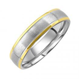 Snubnн ocelovэ prsten JOURNEY pro muћe i ћeny
