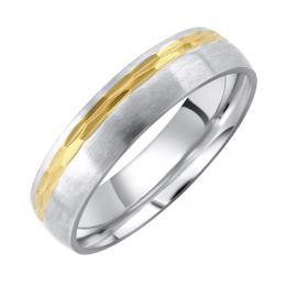 L´AMOUR snubní ocelový prsten pro muže a ženy