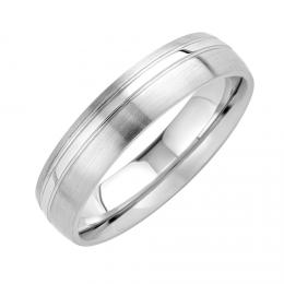 Snubnн ocelovэ prsten PHOENIX pro muћe i ћeny