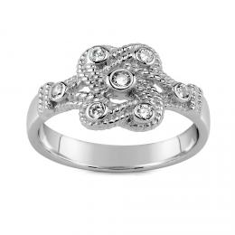 Keltskэ stшнbrnэ prsten se zirkony