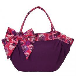 NARAYA  fialovб kabelka s maљlн pro ћeny