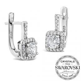 SILVEGO st��brn� n�u�nice Zarina se Swarovski(R) Crystals