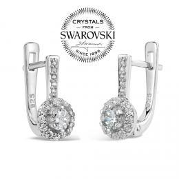 SILVEGO Viviana st��brn� n�u�nice se Swarovski® Crystals