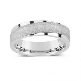 Snubn� ocelov� prsten pro mu�e a �eny