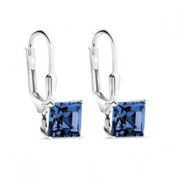 SILVEGO stшнbrnй nбuљnice kostky MONTANA se Swarovski(R) Crystals