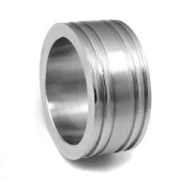 Ocelov� prsten pro mu�e - AKCE