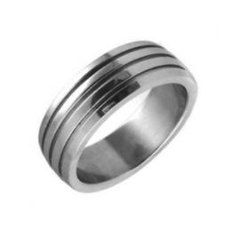 Ocelov� prsten - snubn� prsten - v�prodej