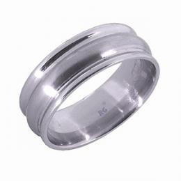 Snubn� ocelov� prsten