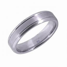 Ocelov� snubn� prsten 6mm - V�PRODEJ