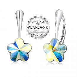 Silvego st��brn� n�u�nice se Swarovski(R) Crystals kv�t AB